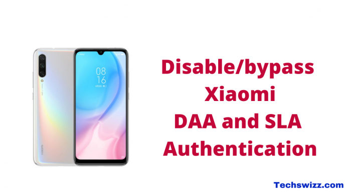 How to Disable_bypass Xiaomi DAA and SLA Authentication